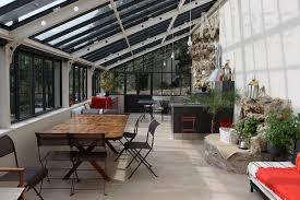 cuisine sous veranda wonderful cuisine salle a manger salon 3 grande cuisine salle 224