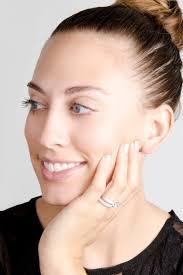 salmas round cut cubic zirconia wedding ring set