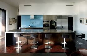 Blue Glass Kitchen Backsplash Kitchen Attractive Swivel Counter Stools With Back Design Ideas