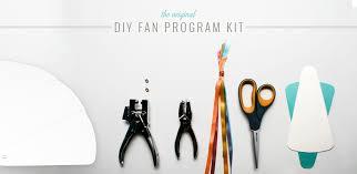 how to make wedding program fans diy fan shaped wedding programs daveyard 533d3df271f2