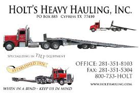 Tow Truck Business Cards Holt Hauling