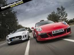 jaguar f type vs porsche 911 porsche 911 gts vs jaguar f type pistonheads