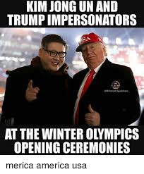 Merica Meme - kim jong un and trump impersonators republicans at the winter