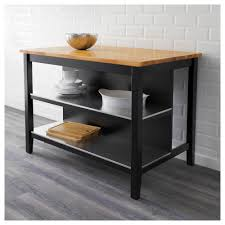 decor grey stenstorp kitchen island with wood top and stools for