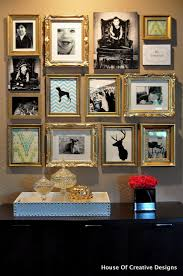 Gallery Wall Frames by The Classy Woman Photo Gallery Wall Inspiration