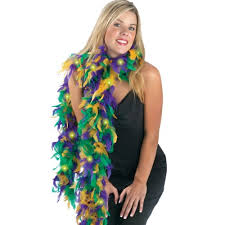 mardi gras feather boas boa2t 526 mardi gras mardi gras novelty
