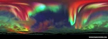 how do the northern lights happen photograph tour nature s glory in colours the violet grace