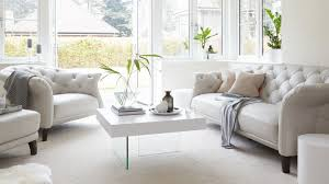 Chesterfield Sofa White Living Room And Furniture Designing With Chesterfield Sofa And