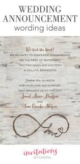 wedding announcement ideas personalized and printable wedding announcement card available in