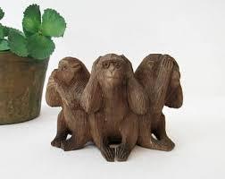 3 wise monkeys etsy