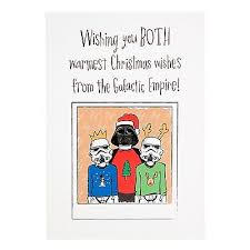 wars christmas card wars christmas cards collection on ebay