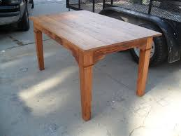 Dining Room Furniture Usa Crafted Custom Dining Table Made From Reclaimed Wood Custom