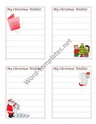 the christmas wish list wish list