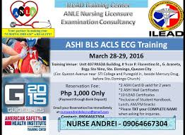 it u0027s rndrei ashi bls acls ecg training march 2016 at quezon city
