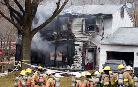 plane crashes into house in maryland 6 killed cbs news