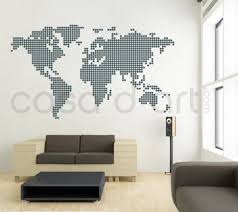 world map with country names contemporary wall decal sticker vintage style world map wall decal 4 panel wallsneedlove maps