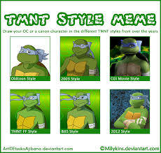 Ninja Turtles Meme - tmnt style meme izanami by els e on deviantart