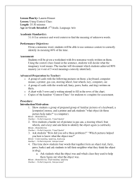 english context clues lesson plan pdf lesson plan educational