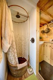 Interiors Of Tiny Homes Best 25 Tiny House Shower Ideas On Pinterest Tiny House Ideas