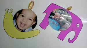 cd hanging photo frame kids craft how to craftlas youtube