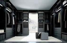 walkin closet black and white modern walk in closet ideas by poliform home