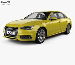 audi a4 2016 interior audi a4 b9 s line saloon with hq interior 2016 3d model hum3d