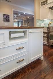 paper towel holder built in under cabinet kitchen pinterest