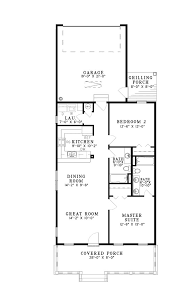narrow house floor plans 16 best house plans images on country house plans