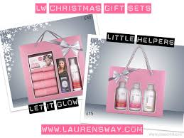 gift sets for christmas lw christmas gift sets now available to buy s way