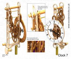 Simple Wooden Clock Plans Free by Clock7