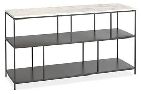 Room And Board Console Table Bowen Console Tables Modern Bookcases Shelves Modern Office