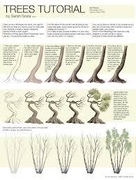 trees tutorial by sarahscala on deviantart