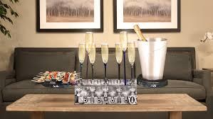 deco loft americain cadeau luxe homme art de table bar à champagne deco garage