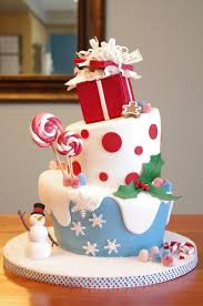Christmas Cake Decorations Simple by 25 Creative Christmas Cake Decoration Ideas And Design Examples