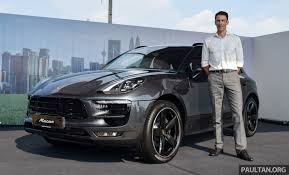 porsche macan 2016 price 2016 porsche macan price announced from rm415k