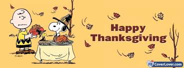 happy thanksgiving snoopy holidays and celebrations cover