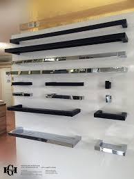 Wooden Shower Tray Ettore Square Matte Black Bathroom Shower Shelf Tray