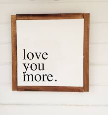 Love Home Decor Sign by Honeycomb Signs Handmade Wood Signs Scripture Signs Home Decor