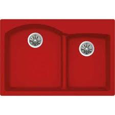 low divide drop in kitchen sink granite quartz composite red low divide undermount kitchen