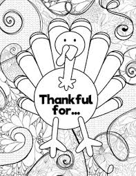 thanksgiving coloring pages fall leaves pumpkin turkey art