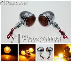 pazoma motorcycle led turn signal light amber led light blinker