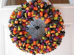 Wreath Halloween One Crafty Mama Spook Tacular Halloween Ribbon Wreaths