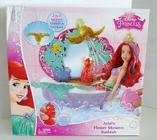 Disney Princess Keyboard Vanity Disney Princess Kids Pretend Play Little Mermaid Toys Ebay