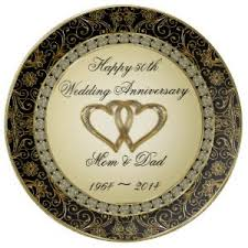 50th wedding anniversary plates wedding anniversary gift ideas anniversary names gift buying