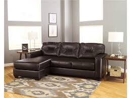 Brown Leather Sofa With Chaise Magnificent Look With Chaise For Living Room Living Room Small