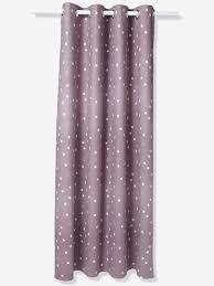 Lavender Blackout Curtains by Starry Blackout Curtain Blue Storage U0026 Decoration Vertbaudet