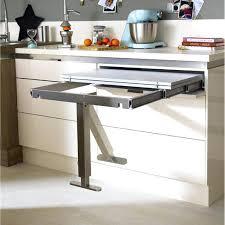 bar a cuisine table amovible cuisine table retractable aluminium delinia 95 x 75