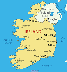 Dingle Ireland Map Ireland Map With Cities Ireland Map