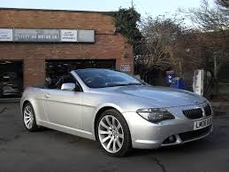 lexus is250 convertible uk used bmw 6 series convertible 4 8 650i sport auto 2dr in raunds