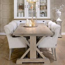 reclaimed trestle dining table hoxton rustic oak trestle dining table lifestyle home design